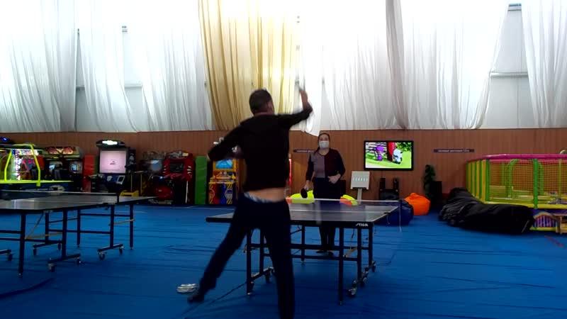 Пинг понг в Воздвиженском