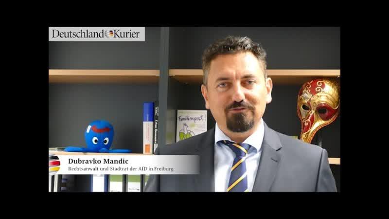 Deutschland Kurier Linksextreme Volksverhetzung gegen Deutsche erlaubt I Mandics klare Kante