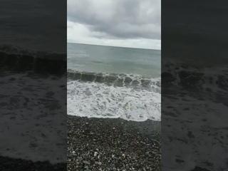 Обстановка в Абхазии на 27 июля 2021. Море после ливня. Погода сегодня. 🤗👍 #Shorts #Абхазия #2021