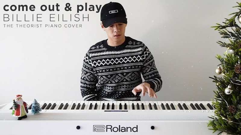 Billie Eilish come out and play The Theorist Piano Cover