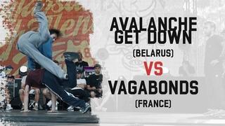 Avalanche Get Down (Belarus) vs Vagabonds (France) | Group B | Warsaw Challenge 2018