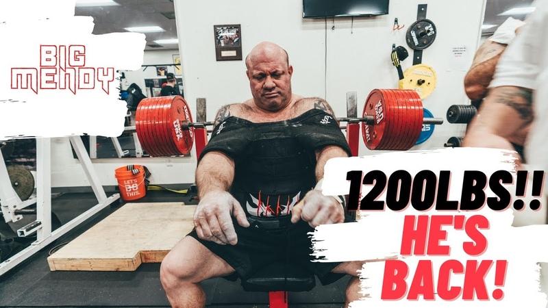 MendyVlog Episode 1 SCOT MENDELSON 1200lbs ATTEMPT, GETTING BACK 2 TRAINING RoadTo1200 TEAMMENDY