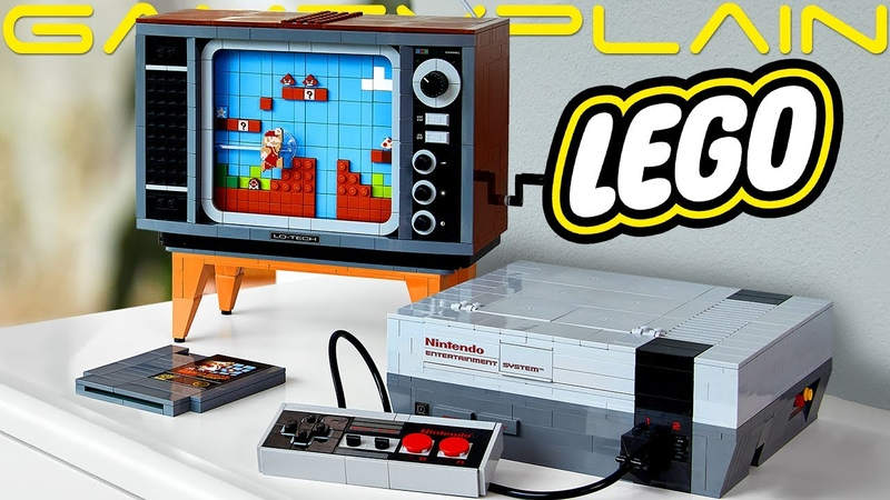 A Much Better Look at the LEGO NES! See 2D Mario in Action NEW Pics Release Date!