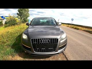 2011 Audi Q7 3.0 TFSI (333HP) ТЕСТ-ДРАЙВ